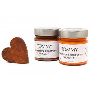 TOMMYART Pasta Ruggine1 (Arancio vivo) 200 ml.